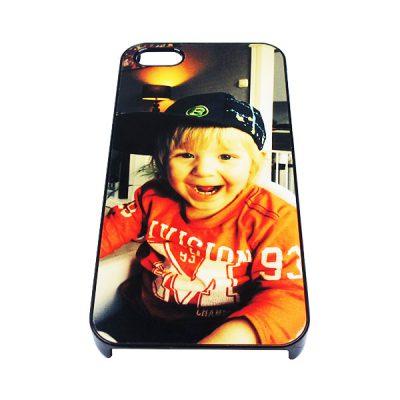 iPhone 5(s) telefoonhoesje ontwerpen hard zwart