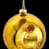 kerstbal met foto maken - goud 4 stuks €29,95 incl. verzenden