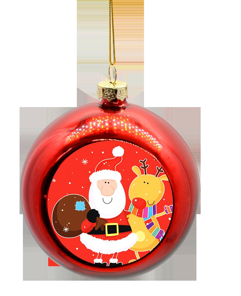 Nieuw Glazen kerstballen met logo online ontwerpen en bestellen | Hoezzi.nl DC-92