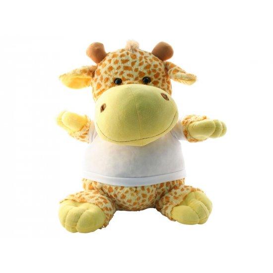 knuffel giraf bedrukken