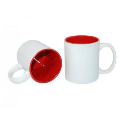 wit rode mok bedrukken
