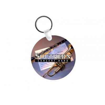 ronde sleutelhanger ontwerpen