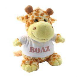 giraf knuffel met naam