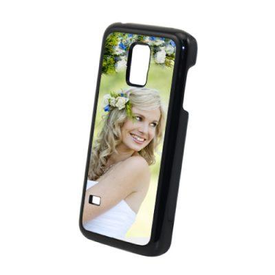 Galaxy S5 mini hoesje maken zwart