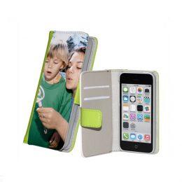 iphone 5c flipcase maken groen