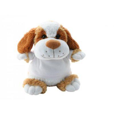 knuffel hondje bedrukt