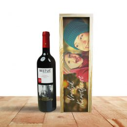 houten wijnkistje bedrukken