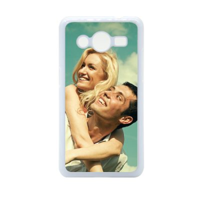 Galaxy core 2 case met foto
