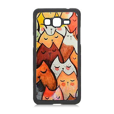 Samsung Galaxy J3 Pro 2016 telefoonhoesje maken - Hardcase zwart