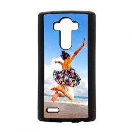 LG G4 softcase zwart ontwerpen