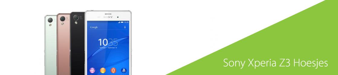 Xperia Z3 hoesje ontwerpen