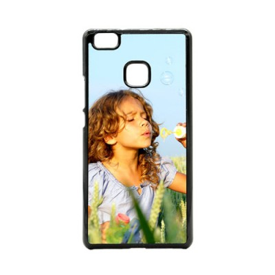 Huawei P9 Lite telefoonhoes met foto hardcase zwart