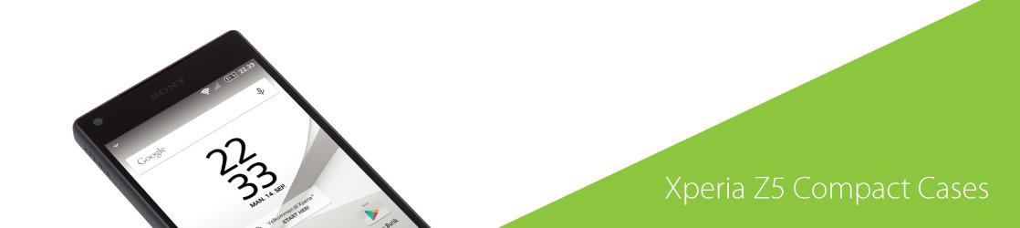 Xperia Z5 compact hoesje ontwerpen