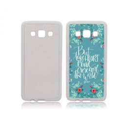 Galaxy A3 2015 telefoonhoes maken softcase wit