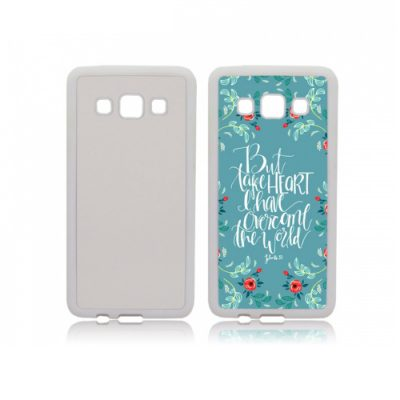 Galaxy A3 softcase met foto