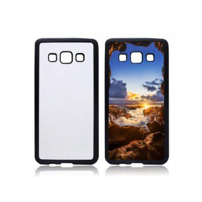Samsung Galaxy A3 2015 telefoonhoes maken softcase zwart