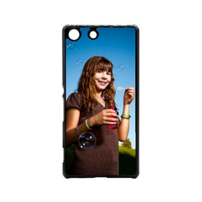 Xperia M5 telefoonhoesje hardcase zwart