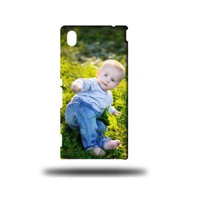 Huawei p7 telefoonhoesje maken 3d rondom bedrukt