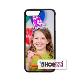 iPhone 7 plus telefoonhoes softcase zwart