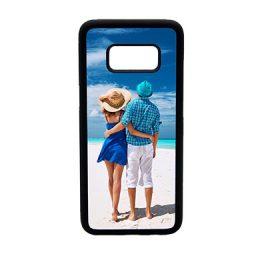 Samsung-S8-telefoonhoes-maken-softcase zwart