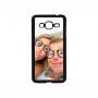 Samsung Galaxy J3 2016 telefoonhoesje hardcase zwart