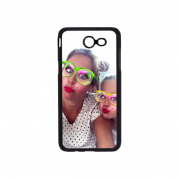 Samsung Galaxy J3(20) telefoonhoesje - Hardcase zwart