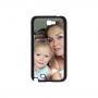 Samsung Galaxy Note 2 telefoonhoesje hardcase zwart
