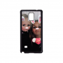Samsung Galaxy Note 4 telefoonhoesje hardcase zwart