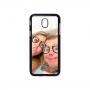 Samsung Galaxy J5 2017 telefoonhoes ontwerpen - Hardcase zwart