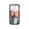 Samsung Galaxy J7 2017 telefoonhoesje maken - (J730) Hardcase zwart