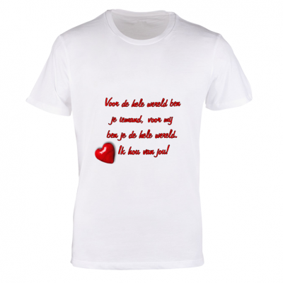 T-shirt wit vrouw