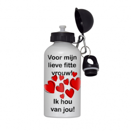drinkfles fitte vrouw