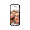 Samsung Galaxy J3 2017 telefoonhoes met foto - J330 Softcase zwart