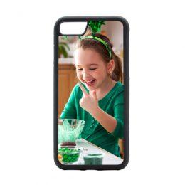 iphone 8 hoesje met foto maken softcase zwart