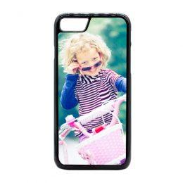 iphone 8 plus hoesje met foto hardcase zwart