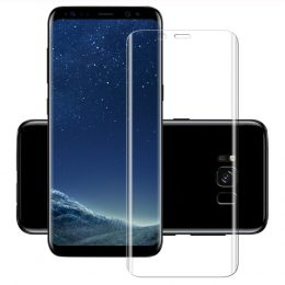 Samsung Galaxy S9 Tempered Glass - Screenprotector CURVED