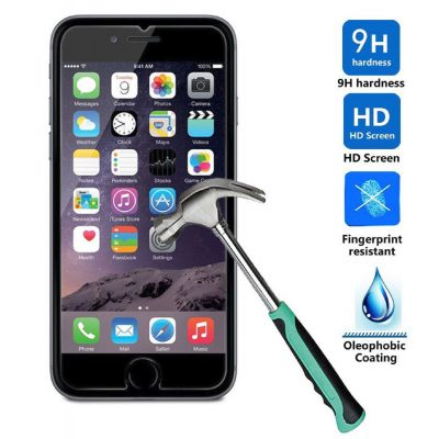 iPhone 8 Plus screenprotector tempered glass