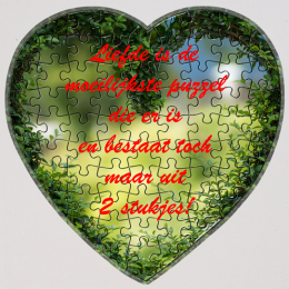 Puzzel-hart-hoezzi